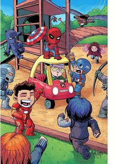 "This is adorable. Everyone's like, ""give that back!"" and Iron Man is like, ""IDIOT"""