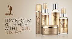Wella SP Luxe oil: een luxueuze productlijn  die het haar op een rijke manier voedt. Wella SP LuxeOil bestaat uit verzorgingsproducten die het haar niet verzwaren, het haar intensief hydrateren en het haar transformeren van binnenuit. Het haar blijft luchtig aanvoelen.  Deze producten maken het haar prachtig glanzend en heerlijk aanvoelend.