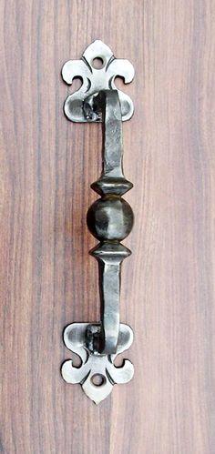 WROUGHT IRON DOOR HANDLE HAND MADE in Home, Furniture & DIY, DIY Materials, Doors & Door Accessories | eBay