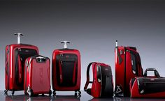 Tumi Ducati Collection - won't fit on your Ducati, but they get your stuff from point A to point B in style