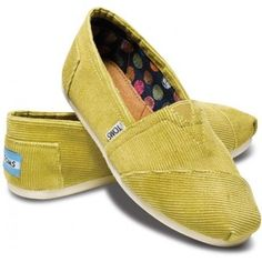 They're that horrible yellow I love... How did I miss these?!