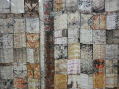 not all those who wander are lost: sewing India Flint