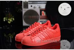 new style 1a0c5 8d3e6 Soldes 2016 La Vente Pas Cher Femme Homme Adidas Supercolor Superstar Rouge  Baskets Boutique Top Deals 2PNEn, Price   71.00 - Adidas Shoes,Adidas Nmd  ...