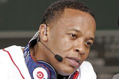"""""""Dr. Dre's headphones and audio streaming company, Beats, appears close to being acquired by Apple for $3.2 billion. The Beats deal would be the biggest purchase in Apple's history and likely make Dr. Dre rap's first billionaire."""" • by Schuyler Velasco CSM"""