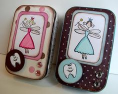 Tooth fairy boxes from altoid tins