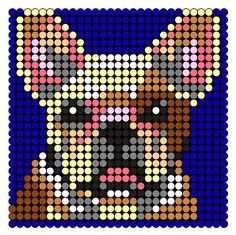 French_Bulldog by BreAnda_98 on Kandi Patterns