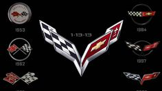 Smaller and lighter C7 Corvette to also sports new crossed-flags logo.