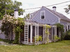 Antique, Rose Covered Cottage Steps From Cape Cod Bay