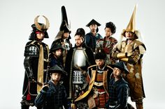 Nagoya Omotenashi Samurai Team was formed to promote the appeal of Nagoya throughout Japan #Samurai