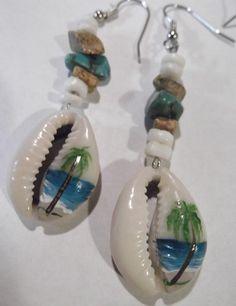Hand made & hand PAINTED earrings by KoonBerries http://koonberries.com/