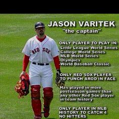 My favorite Red Sox player