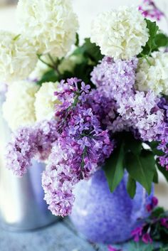 Want a big lilac bush? Prune them less often. (But make sure to trim them at least once a year!)