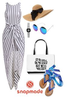 """""""Beach style SNAPMADE"""" by ermina996 ❤ liked on Polyvore featuring Eugenia Kim"""