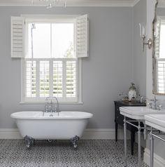 White Shutters - White Plantation Shutters Off Bedroom Shutters, White Shutters, Interior Window Shutters, Wooden Shutters, Interior Windows, Bathroom Window Privacy, Bathroom Window Treatments, Bathroom Windows, Bathroom Blinds