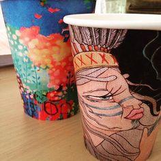 Starting a new collection. #biocupartseries #entãojáé #brisbane #coffee