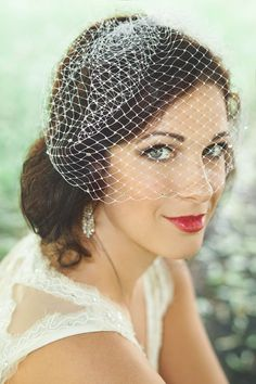 | Rose Red Bridal Designs. Photos by La Candella Weddings. http://lacandellaweddings.com