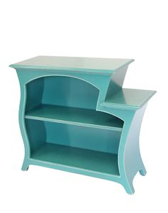 Bookcase No. 6 - Curved Accent Bookcase