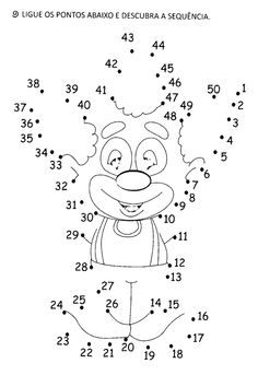 Printable Mazes, Printable Activities For Kids, Preschool Worksheets, Halloween Coloring Pages, Coloring Pages For Kids, Coloring Books, Numbers For Kids, Numbers Preschool, Carnival Crafts