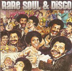 Funk-Disco-Soul-Groove-Rap: RARe Soul & disco 1 - compilation 2 cds soit 32
