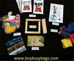 busy bag activities (intermediate bag) $30