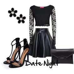 Date Night by angelica-infinity on Polyvore featuring polyvore fashion style Boohoo MSGM Givenchy Marc by Marc Jacobs