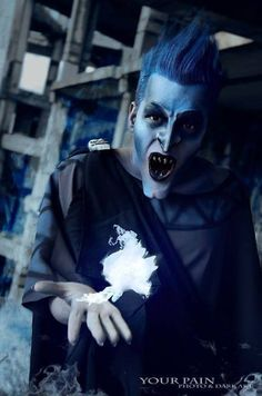 hades hercules Disney...his special effects makeup is perf
