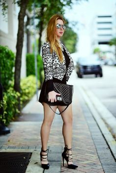 Love the look, awesome heels. http://www.handbagmadness.com