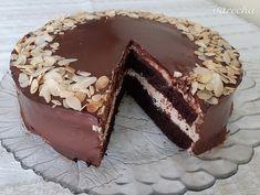 Jednoduchá čokoládovo-gaštanová torta s korpusom bez šľahania (fotorecept) - recept | Varecha.sk Tiramisu, Ethnic Recipes, Baby Cakes, Food, Conch Fritters, Essen, Meals, Tiramisu Cake, Yemek