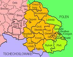 Silesia Map Ethnic | RARE Currency from 1921 Upper Silesia Poland Plebiscite | eBay