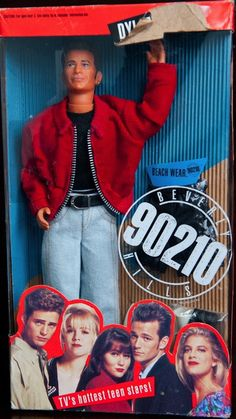 "Dylan McKay | ""Beverly Hills, 90210"" Dolls, The Coolest Toys You Probably Never Owned"