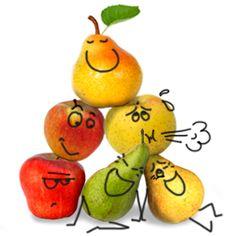 En octobre, faites le plein de variétés chez Biocoop ! Fruit Icons, Yoshi, Ads, French, Food, Seasonal Fruits, Fruits And Veggies, October, French People
