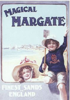 Collectable Cards: Robert opie advertising postcard - magical margate