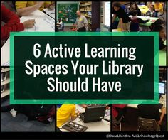 Active Learning Spaces In the book Get Active: Reimagining Learning Spaces for Student Success, the authors identify six types of active learning spaces that are essential for creating an engaging learning environment for students. While this research (and this book) are not specifically focused on school libraries, we are the ideal place in our schools … … Continue reading →