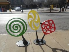 Bike Rack Art Now Installed in the Delmar Loop - University City, MO Patch