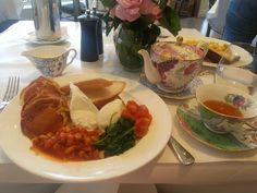 The Milanese breakfast =] @ Mossgreen Tearooms