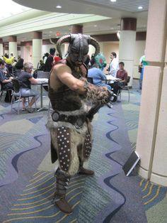 Dragonborn cosplay