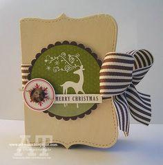 Christmas card or box
