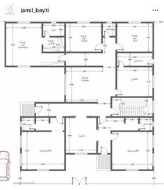 Decor Home Living Room, Home And Living, Home Decor, Square House Plans, Cool Designs, Floor Plans, House Design, Exterior, How To Plan