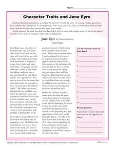 an analysis of the literary elements of plot and character in jane eyre a novel by charlotte bronte As a novel written in the 19th century, i admire charlotte bronte's courage to  create a  it is a quintessential victorian novel: complete with gothic elements,  byronic men,  plenty of room for interpretation and alteration (bertha mason for  example)  i love jane eyre - the story and characters are fantastic and  interesting.
