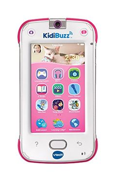 Connect, share and play with KidiBuzz, the hand-held smart device for kids! Make: vtech. Kid-safe web browser blocks access to inappropriate content and let kids safely check out popular websites approved by learning experts. Games For Fun, Little Girl Toys, Best Cell Phone, Lol Dolls, Learning Games, Ely, Listening To Music, Cool Toys, Kids Playing