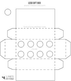 lego gift box template - Google Search   Lego-licious   Pinterest ...