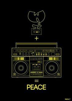 Arte Hip Hop, Hip Hop Art, Wu Tang Clan, Wu Tang Tattoo, Wu Tang Collection, Ghostface Killah, Rapper Art, Music Tattoos, Fan Art