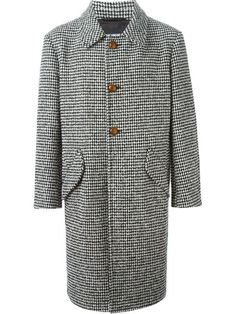 Shop Raf Simons houndstooth overcoat  in Nike - Via Verdi from the world's best independent boutiques at farfetch.com. Shop 300 boutiques at one address.