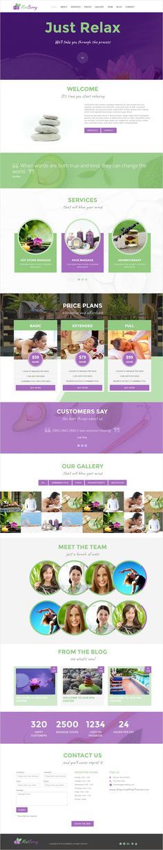 MintBerry is a unique one page responsive #bootstrap template for your beauty #salon or #yoga classes center website download now➩ https://themeforest.net/item/mintberry-fresh-juicy-one-page-spa-wellness-responsive-template/17298457?ref=Datasata