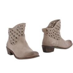 Hoss Intropia Ankle Boots - Beige Hoss Intropia Ankle Boots in beige. In great condition - I don't think these have left my house. Size 37 (7) and fits like a 7. Hoss Shoes