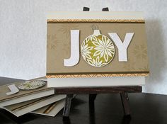 fun use of an ornament stamp