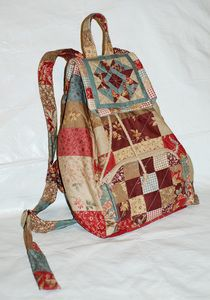 tutorial. This site has many great ideas for bags.  Use google translate to translate from Russian to English.