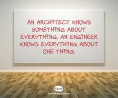 architect vs. engineer