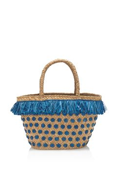 Kama Tote In Blue by KAYU
