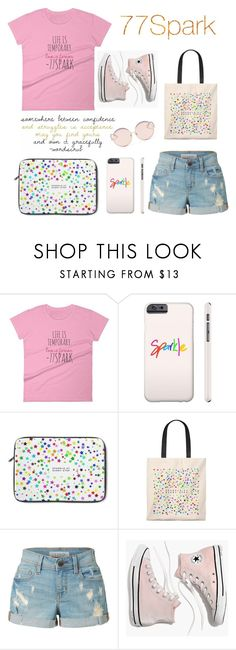 """""""Sparkle At Every Step"""" by hedija011 ❤ liked on Polyvore featuring LE3NO, Madewell, N°21, contest, shop, 77 and spark"""
